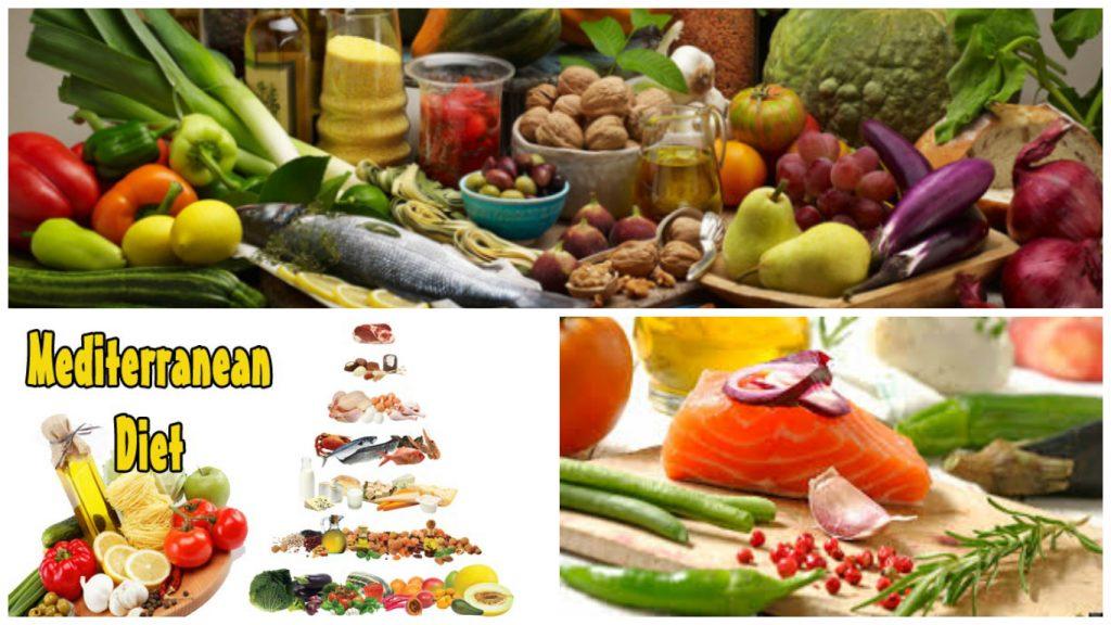 A mediterrán diéta kedvező hatással van az idős emberek..
